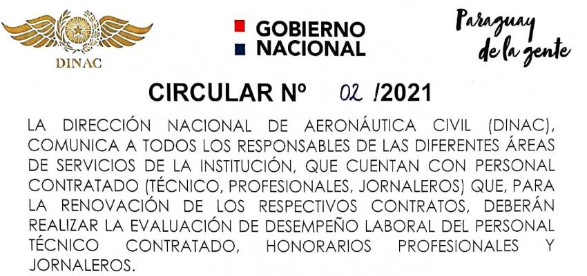 Circular N° 02/2021